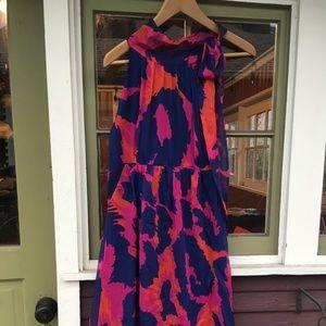 Dresses & Skirts - DIANE von FURSTENBERG mult color floral silk dress
